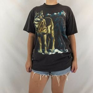 Unisex Timber Wolves Tee